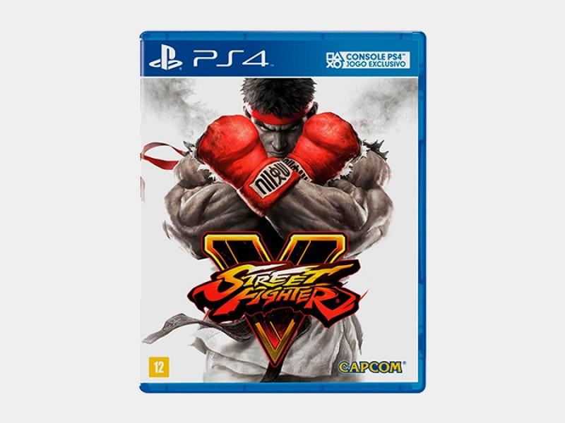 Jogo Street Fighter V - PS4