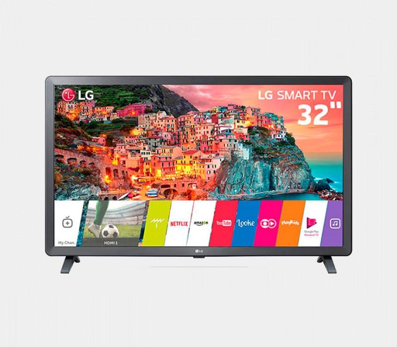 Smart TV LED 32 HD LG 32LK615BPSB com WebOS 4.0 Wi-Fi, Processador Quad Core, HDR 10 Pro, HDMI e USB